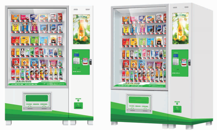 Drink & Snack LCD Touch Screen Vending Machine
