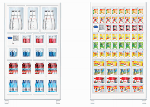 Locker Vending Machine Support Different Size of Products